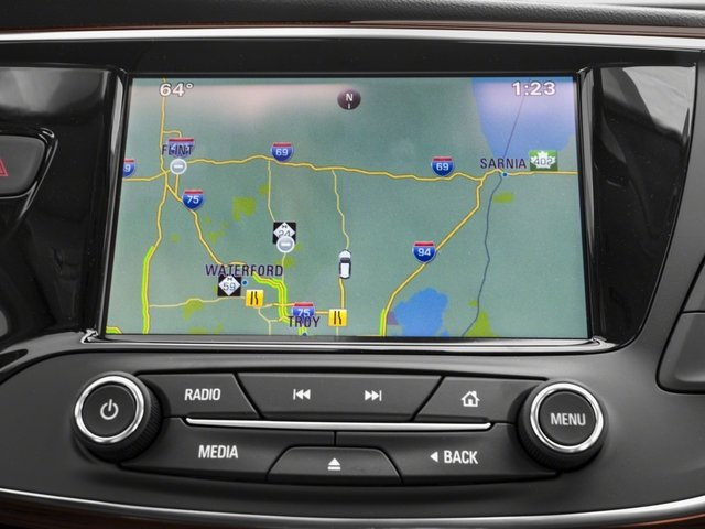 2018 Buick Envision Base Price FWD 4dr Pricing navigation system