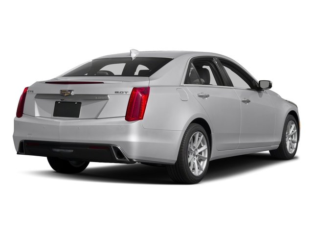 2018 Cadillac CTS Sedan Pictures CTS Sedan 4D Luxury AWD V6 photos side rear view