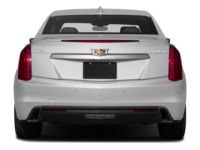 2018 Cadillac CTS Sedan Pictures CTS Sedan 4D Luxury AWD V6 photos rear view
