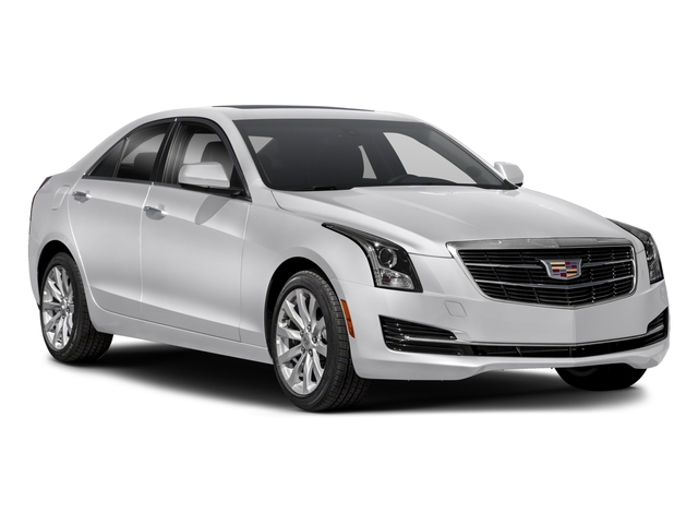 2018 Cadillac ATS Sedan Prices and Values Sedan 4D Premium Luxury V6 side front view