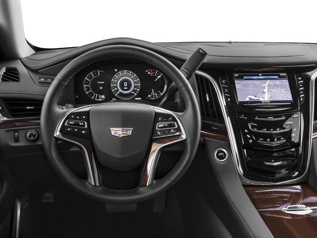 2018 Cadillac Escalade Prices and Values Utility 4D Luxury 2WD V8 driver's dashboard