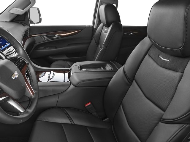 2018 Cadillac Escalade Prices and Values Utility 4D Luxury 2WD V8 front seat interior