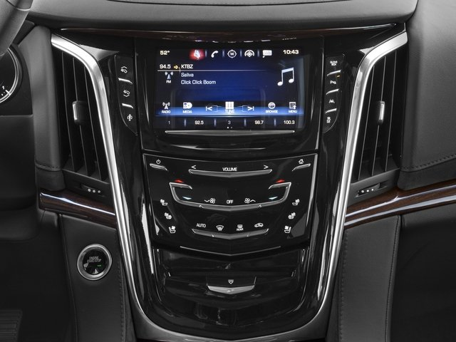 2018 Cadillac Escalade Prices and Values Utility 4D Luxury 2WD V8 stereo system