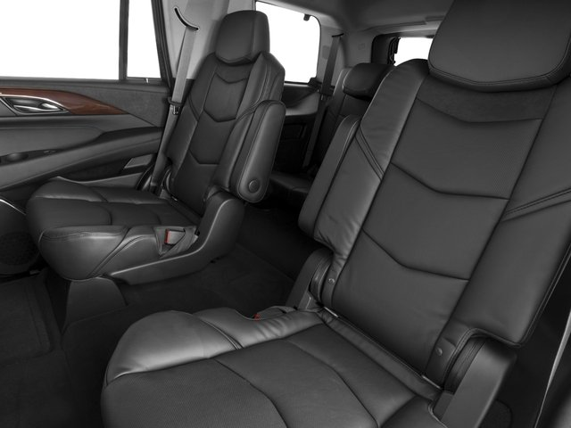 2018 Cadillac Escalade Prices and Values Utility 4D Luxury 2WD V8 backseat interior
