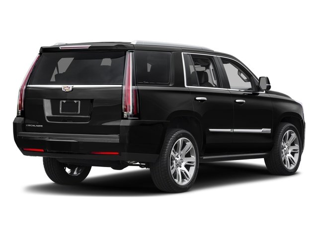 2018 Cadillac Escalade Prices and Values Utility 4D Premium Luxury 4WD V8 side rear view