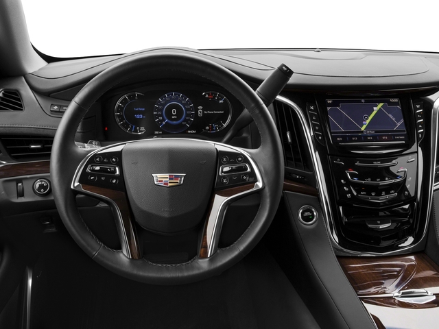 2018 Cadillac Escalade Prices and Values Utility 4D Premium Luxury 4WD V8 driver's dashboard