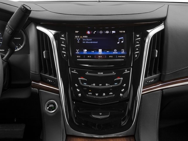 2018 Cadillac Escalade Prices and Values Utility 4D Premium Luxury 4WD V8 stereo system