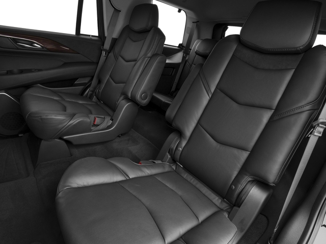 2018 Cadillac Escalade Prices and Values Utility 4D Premium Luxury 4WD V8 backseat interior