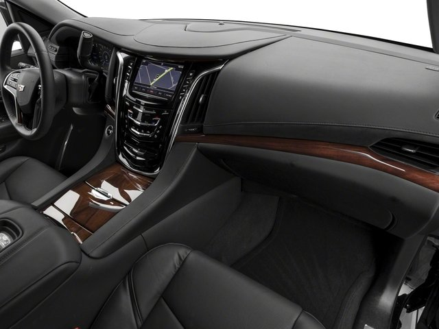 2018 Cadillac Escalade Prices and Values Utility 4D Premium Luxury 4WD V8 passenger's dashboard