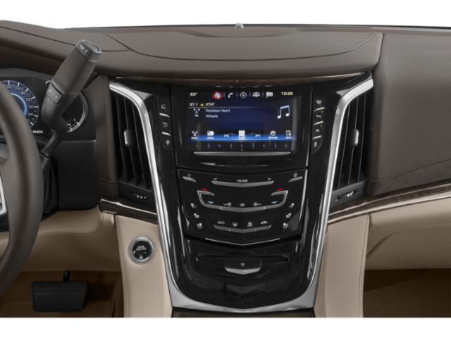 2018 Cadillac Escalade ESV Prices and Values Utility 4D ESV 4WD V8 stereo system