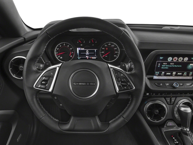 2018 Chevrolet Camaro Base Price 2dr Cpe LT w/1LT Pricing driver's dashboard