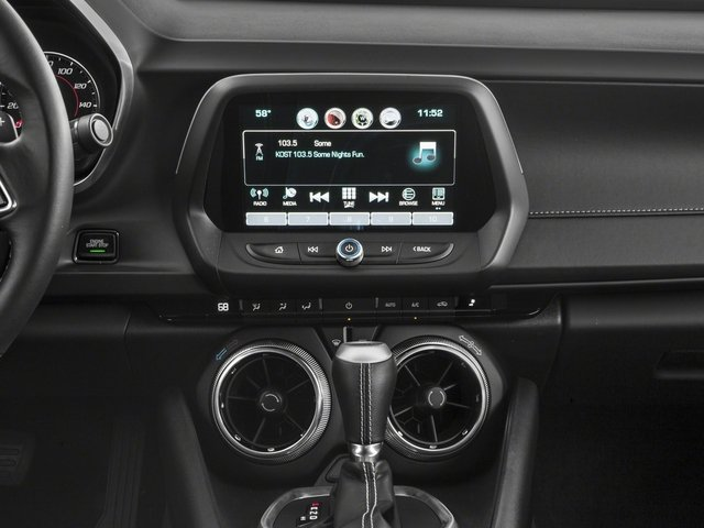 2018 Chevrolet Camaro Base Price 2dr Cpe LT w/1LT Pricing stereo system