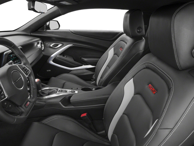 2018 Chevrolet Camaro Base Price 2dr Cpe SS w/2SS Pricing front seat interior