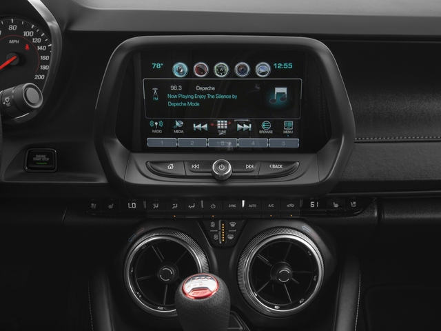2018 Chevrolet Camaro Base Price 2dr Cpe SS w/2SS Pricing stereo system