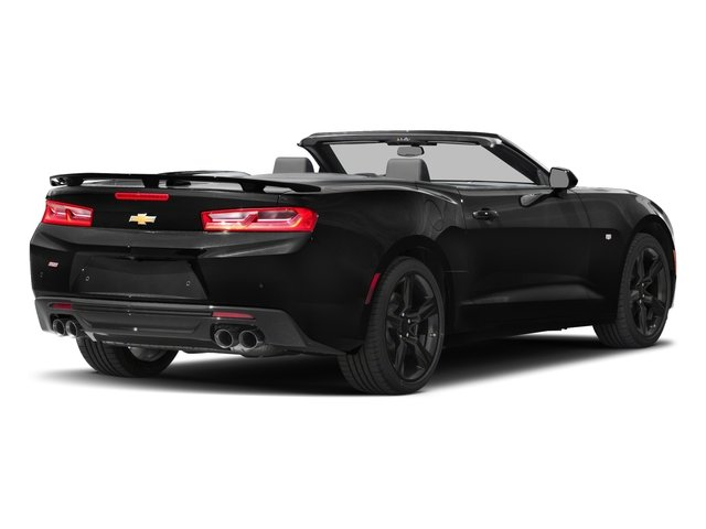2018 Chevrolet Camaro Pictures Camaro 2dr Conv SS w/2SS photos side rear view