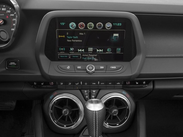 2018 Chevrolet Camaro Pictures Camaro 2dr Conv SS w/2SS photos stereo system
