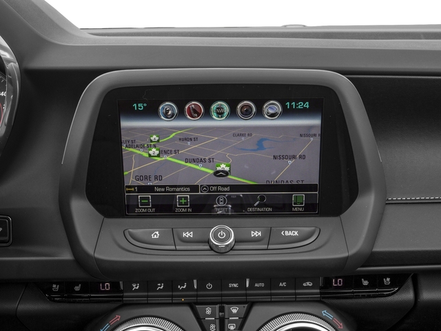 2018 Chevrolet Camaro Pictures Camaro 2dr Conv SS w/2SS photos navigation system
