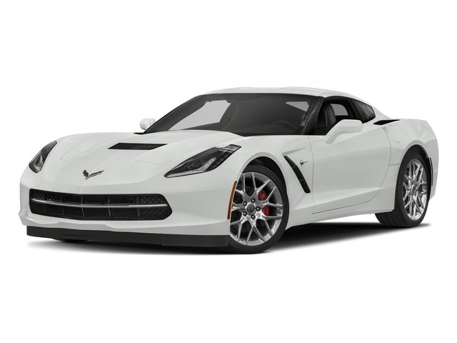 2018 Chevrolet Corvette Pictures Corvette 2dr Stingray Cpe w/2LT photos side front view