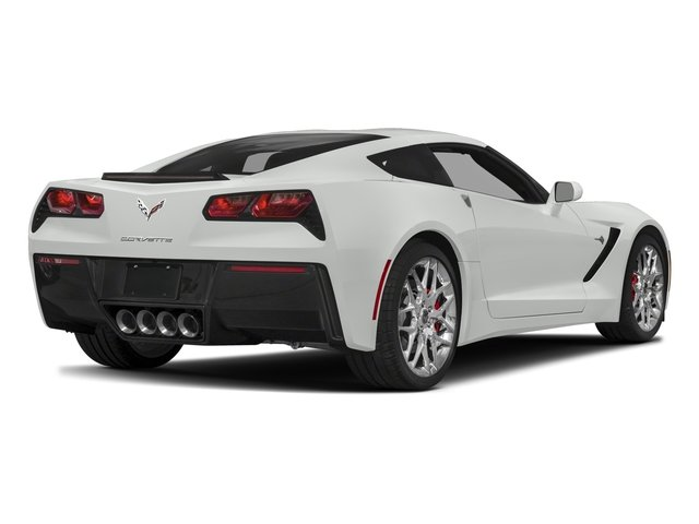 2018 Chevrolet Corvette Base Price 2dr Stingray Cpe W 3lt Pricing Side Rear View