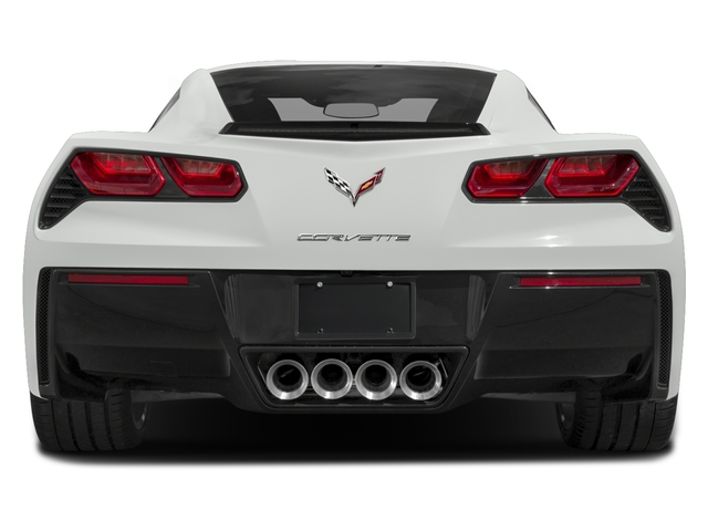 2018 Chevrolet Corvette Pictures Corvette 2dr Stingray Cpe w/2LT photos rear view