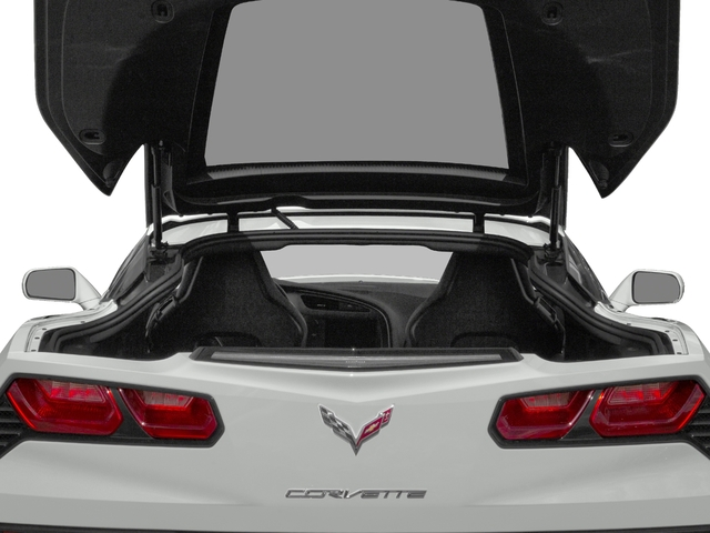 2018 Chevrolet Corvette Pictures Corvette 2dr Stingray Cpe w/2LT photos open trunk