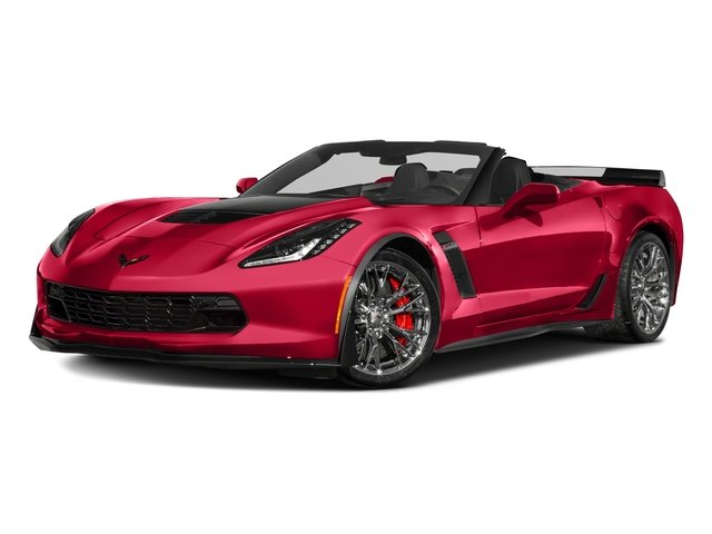 2018 Chevrolet Corvette Base Price 2dr Z06 Conv w/1LZ Pricing side front view