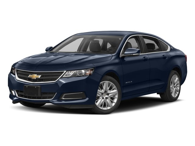 2018 Chevrolet Impala Pictures Impala 4dr Sdn LS w/1FL photos side front view