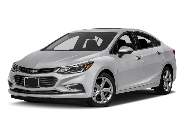 2018 Chevrolet Cruze Base Price 4dr Sdn 1.4L Premier w/1SF Pricing side front view