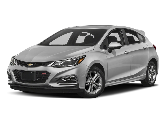 2018 Chevrolet Cruze Base Price 4dr HB 1.4L LT w/1SC Pricing side front view