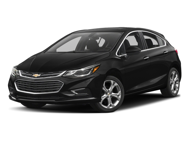 2018 Chevrolet Cruze Base Price 4dr HB 1.4L Premier w/1SF Pricing side front view
