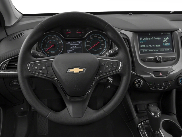 2018 Chevrolet Cruze Base Price 4dr Sdn 1.4L LT w/1SD Pricing driver's dashboard
