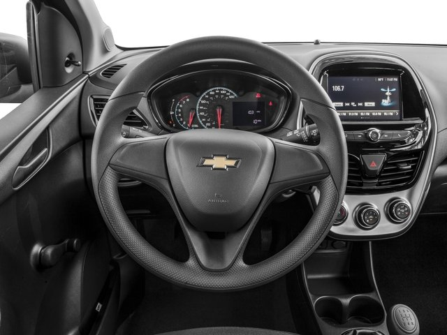 2018 Chevrolet Spark Base Price 4dr HB Man LS Pricing driver's dashboard