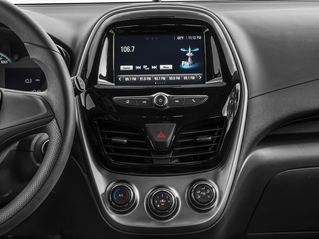 2018 Chevrolet Spark Base Price 5dr HB CVT LS Pricing stereo system