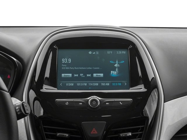 2018 Chevrolet Spark Pictures Spark 5dr HB Man ACTIV photos stereo system