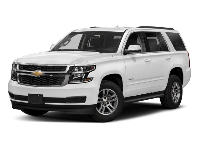 2018 Chevrolet Tahoe Pictures Tahoe 2WD 4dr LT photos side front view