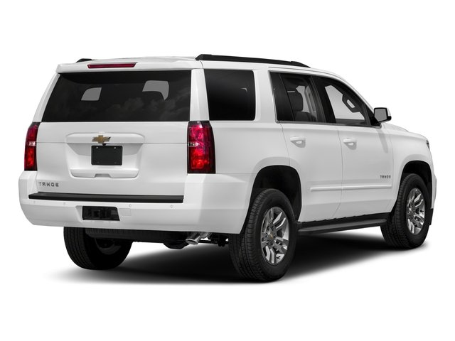 2018 Chevrolet Tahoe Pictures Tahoe 2WD 4dr LT photos side rear view