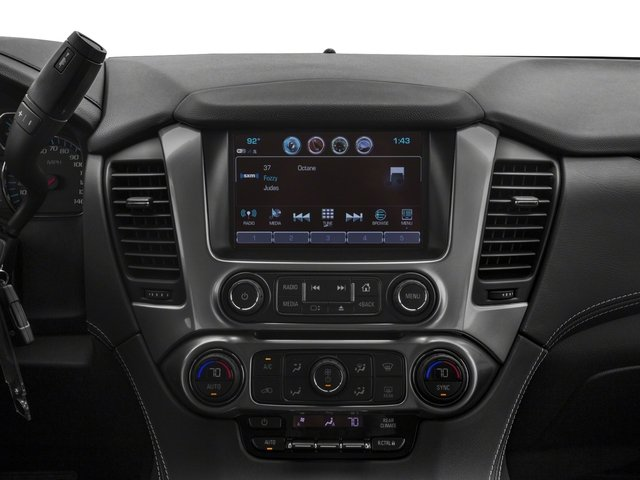 2018 Chevrolet Tahoe Base Price 4WD 4dr LS Pricing stereo system