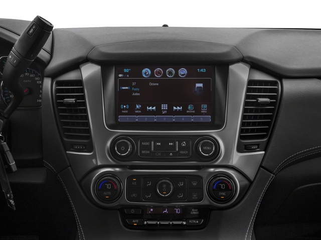 2018 Chevrolet Tahoe Pictures Tahoe 2WD 4dr LT photos stereo system