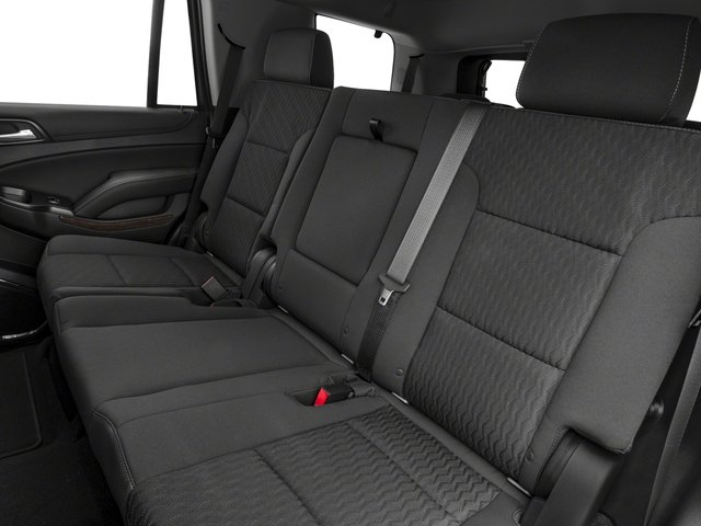 2018 Chevrolet Tahoe Pictures Tahoe 2WD 4dr LT photos backseat interior