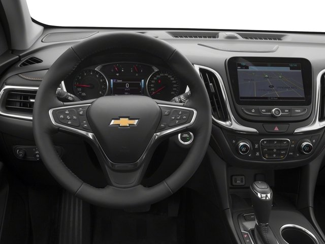 2018 Chevrolet Equinox Base Price FWD 4dr Premier w/1LZ Pricing driver's dashboard