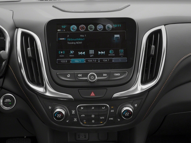 2018 Chevrolet Equinox Base Price FWD 4dr Premier w/1LZ Pricing stereo system