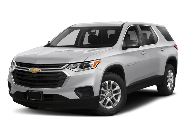 2018 Chevrolet Traverse Pictures Traverse FWD 4dr LS w/1FL photos side front view
