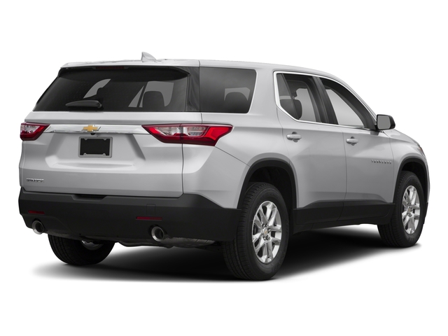 2018 Chevrolet Traverse Pictures Traverse AWD 4dr LS w/1LS photos side rear view