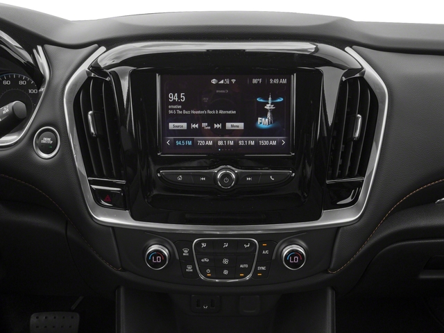 2018 Chevrolet Traverse Pictures Traverse AWD 4dr LS w/1LS photos stereo system