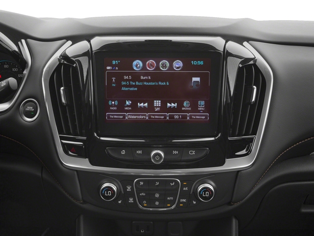 2018 Chevrolet Traverse Base Price AWD 4dr Premier w/1LZ Pricing stereo system