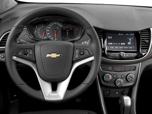 2018 Chevrolet Trax Base Price FWD 4dr LT Pricing driver's dashboard