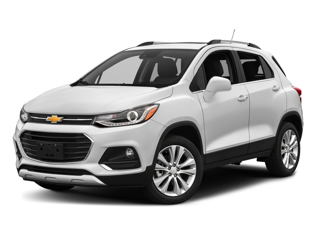 2018 Chevrolet Trax Base Price AWD 4dr Premier Pricing side front view