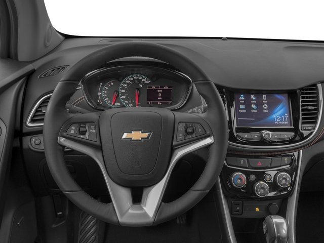 2018 Chevrolet Trax Base Price AWD 4dr Premier Pricing driver's dashboard