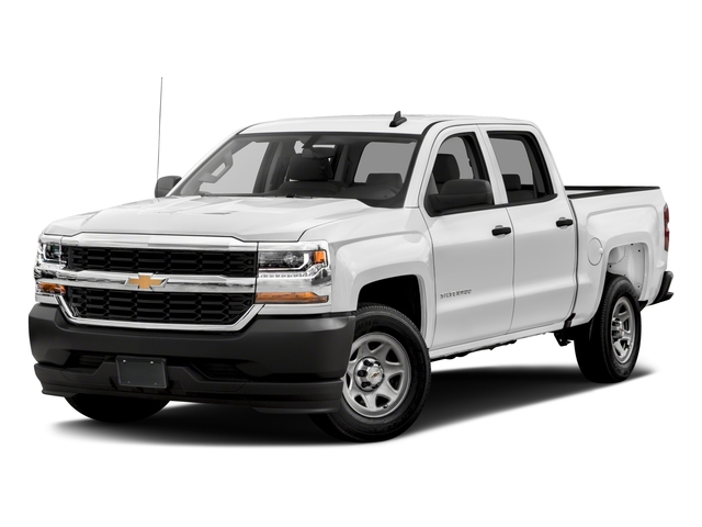 2018 Chevrolet Silverado 1500 Base Price 2WD Crew Cab 143.5 Work Truck Pricing side front view