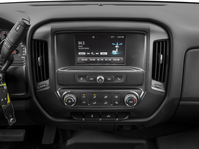 2018 Chevrolet Silverado 1500 Base Price 2WD Crew Cab 143.5 Work Truck Pricing stereo system